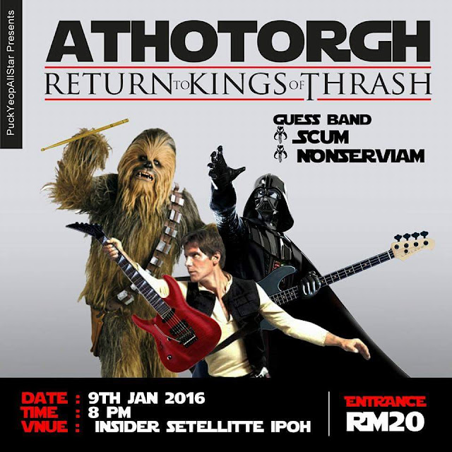 Event Athotorgh Return to kings of thrash