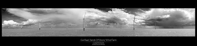Farma wiatrowa Gunfleet Sands - fot. Łukasz Kocewiak
