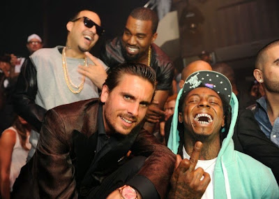 fotos de lil wayne kanye west french montana