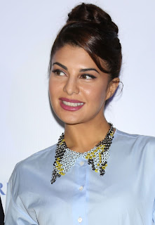 Jacqueline Fernandez as air hostess at British Airways New Aircraft Arrival Celebration