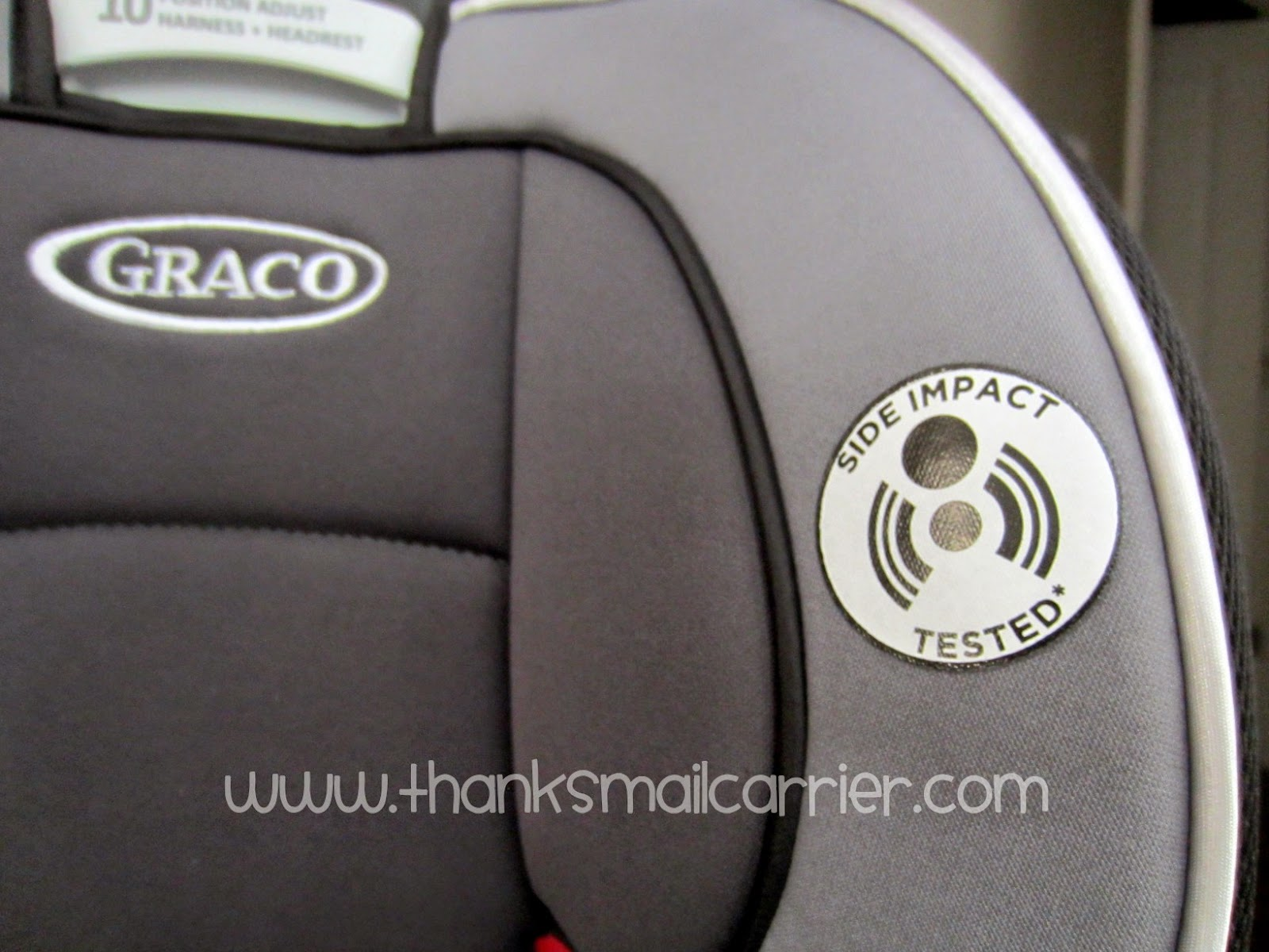 Graco car seat head protection