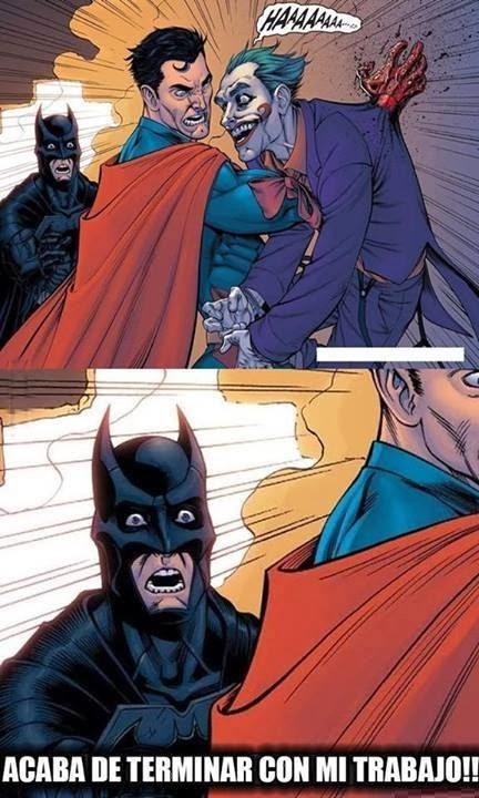 Se quedo sin trabajo Batman