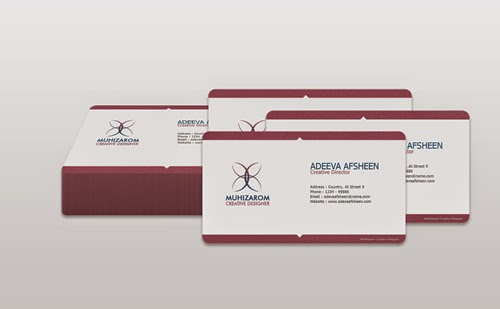 Free PSD Clean Creative Business Card