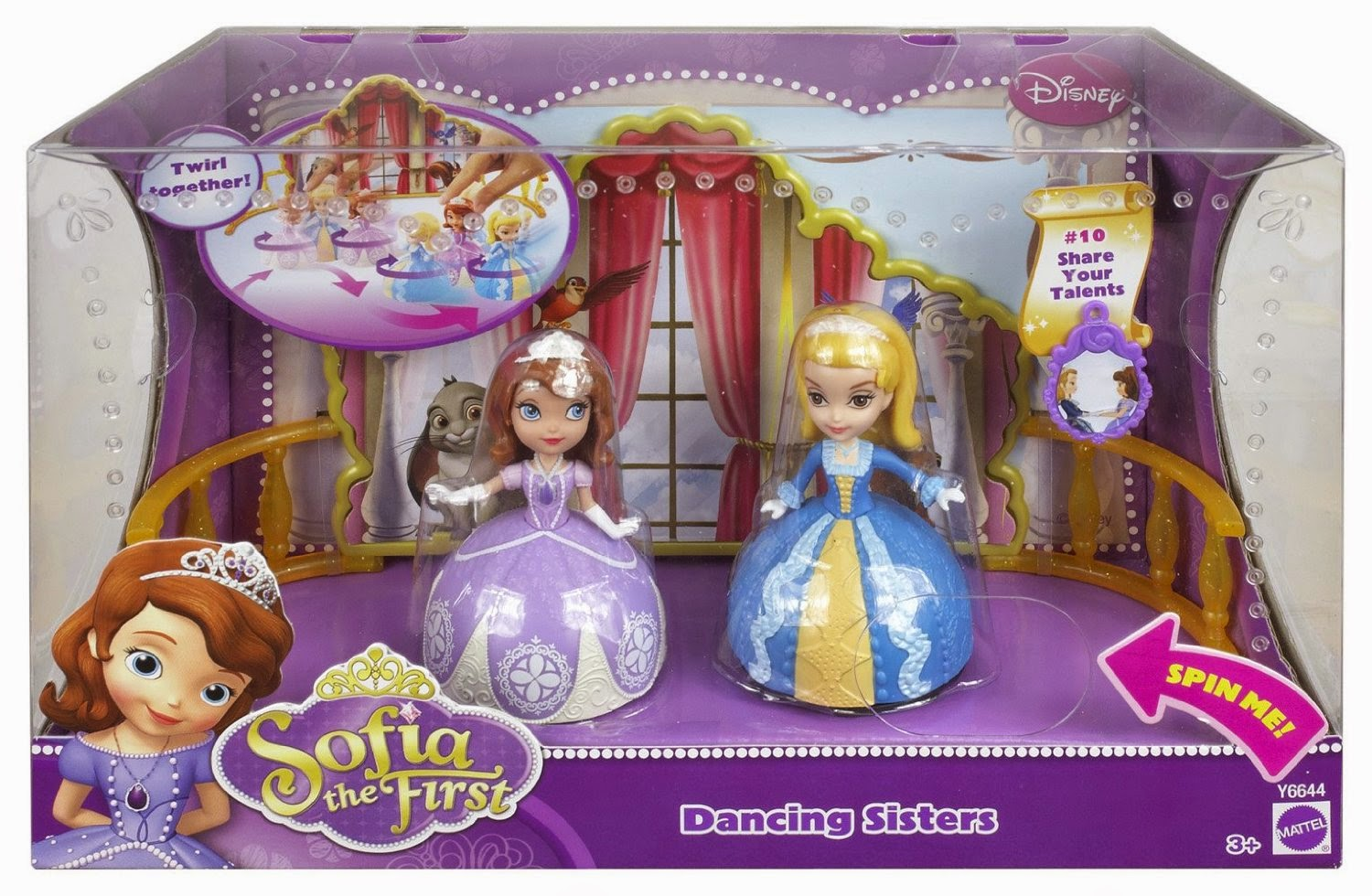 4littleboyz online toy shop clothings sofia the first disney sofia the first dancing sisters 2 pack price 18 sgd amipublicfo Images