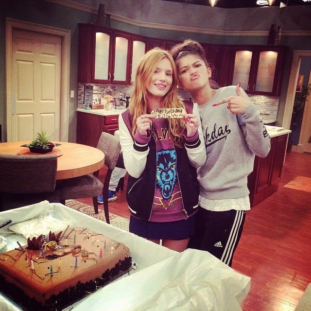 "Of course, she did not forget shared the fun with all her followers and she also posted a sweet message for the fans into her Instagram account. By saying: ""My family always #Disney #KCundercover I have literally been on one of your sets for each birthday. . .Grazie amico mio da Italy Tommy Chiabra."""