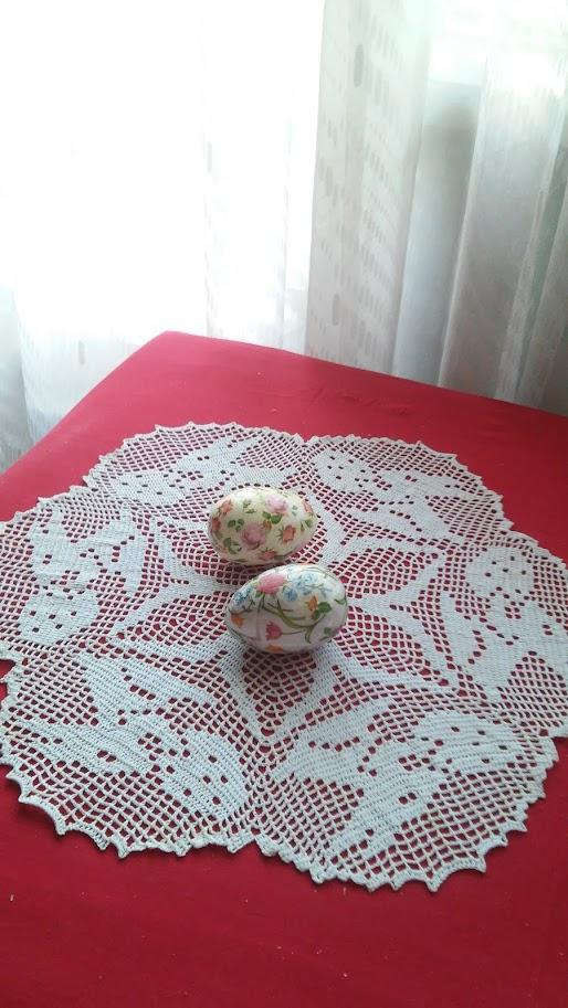 Serwetka z zajączkami