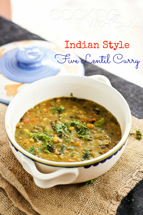 ... } Panchmel (Panchratna) Dal | Indian Style Five Lentil Curry Recipe