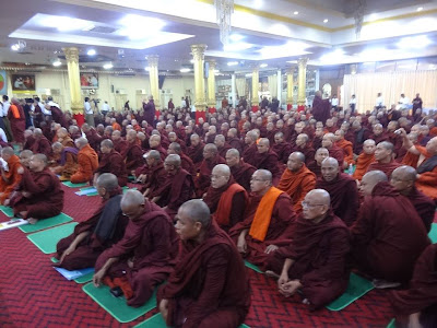 Opening Statement of Insein Monks Conference