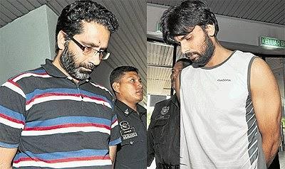 Ayer Keroh Seorang Guru Penolong Kanan Dan Lelaki Warga Pakistan Didakwa Di Mahkamah Majistret Semalam Atas Tuduhan Menghasilkan Filem Lucah Sebuah