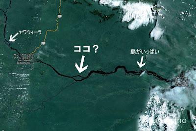 ネグロ河地図