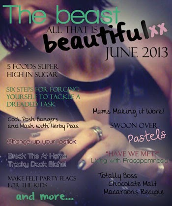 The Beast. A Link Magazine - grab a cuppa and click on the mag for great reads to read and share.