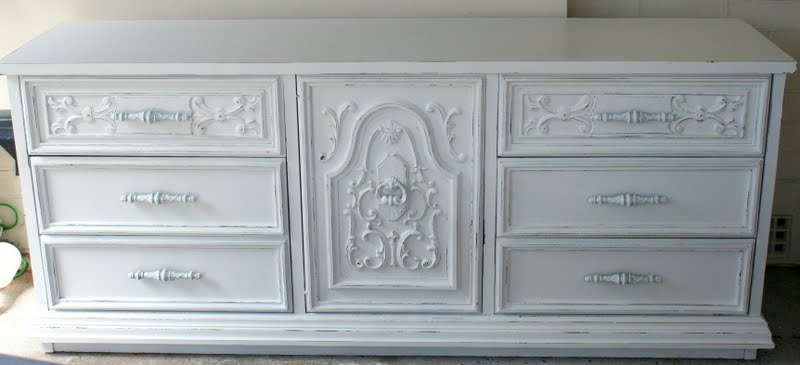 white sideboard Lilyfield Life Painted Furniture Sydney