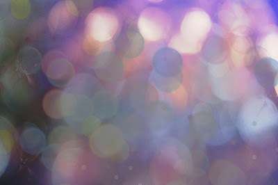 soft bokeh colors