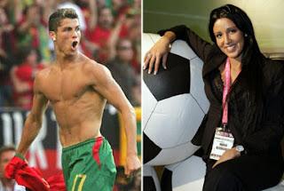 Cristiano Ronaldo Nuria Bermudez