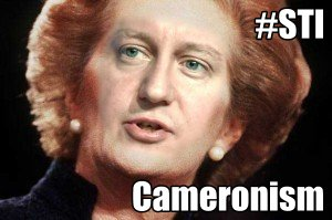 Cameronism recession, Blairism and Thatcherism.