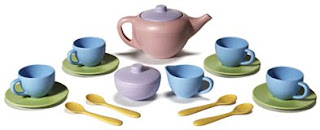 recycled plastic teaset