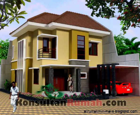Desain Arsitektur Rumah Minimalis by Desain Rumah 2015  Home