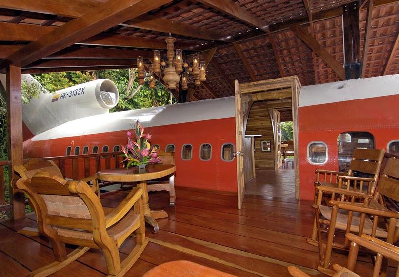 Boeing 727 Convertido en Suite de Hotel en Costa Rica