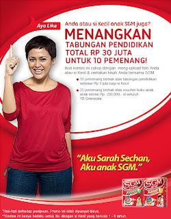 Kontes Aku Anak SGM dunialombaku.blogspot.com
