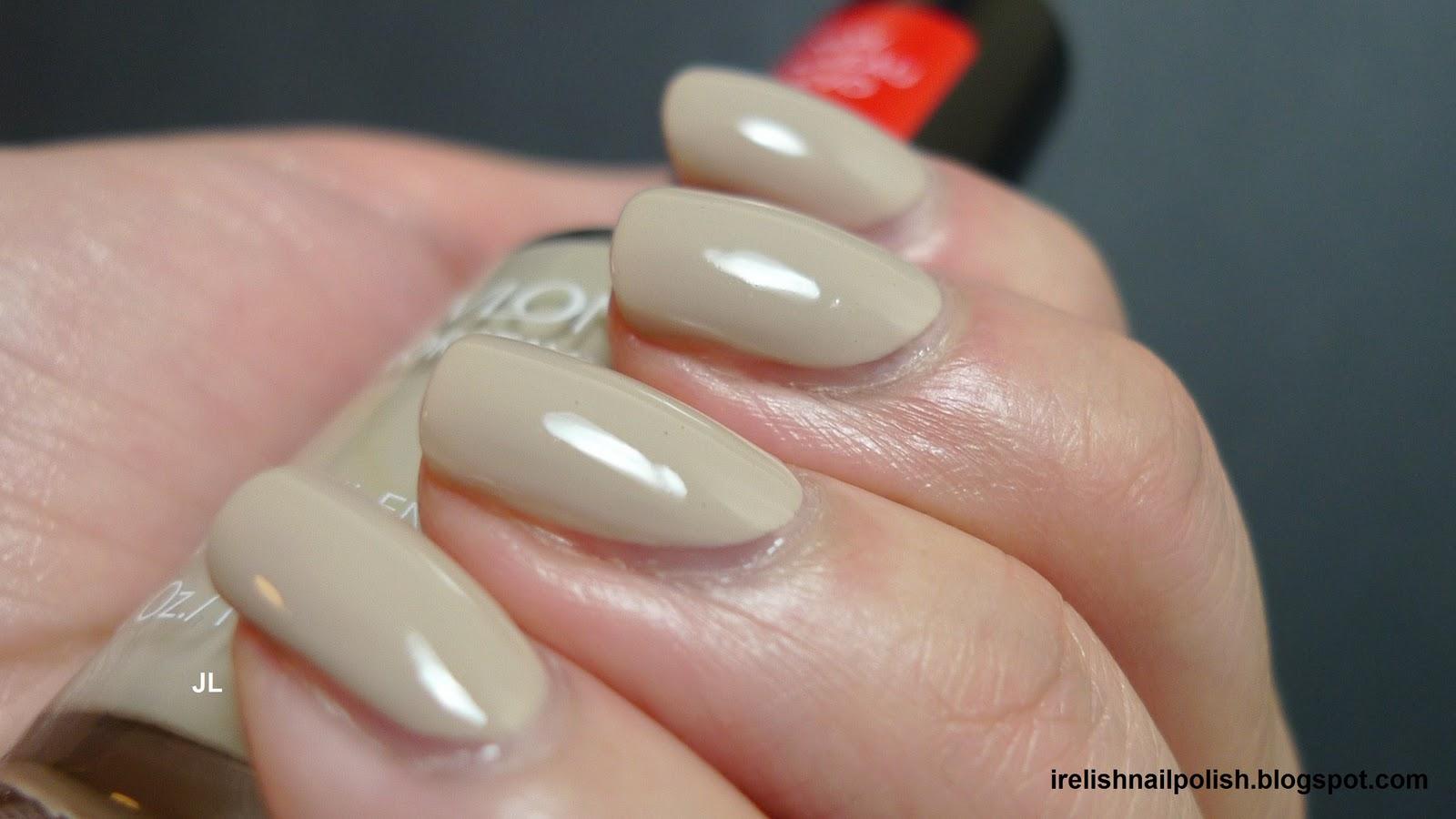 I Relish Nail Polish!: Revlon Colorstay Longwear - Bare Bones