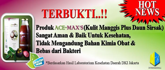 Manfaat Produk Ace Maxs