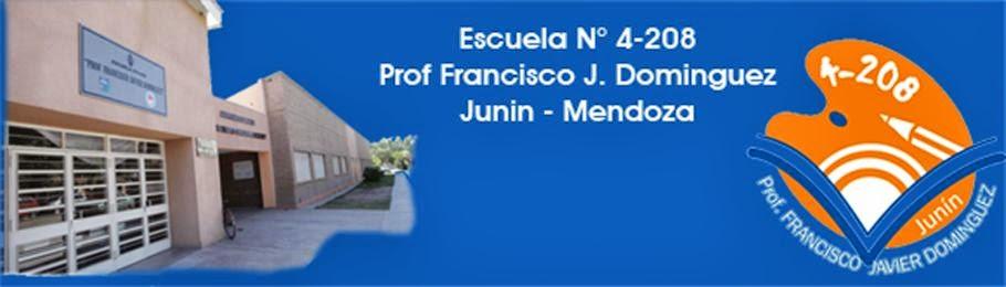 """Esc. N° 4-208 """"Prof. J. Francisco Dominguez"""""""
