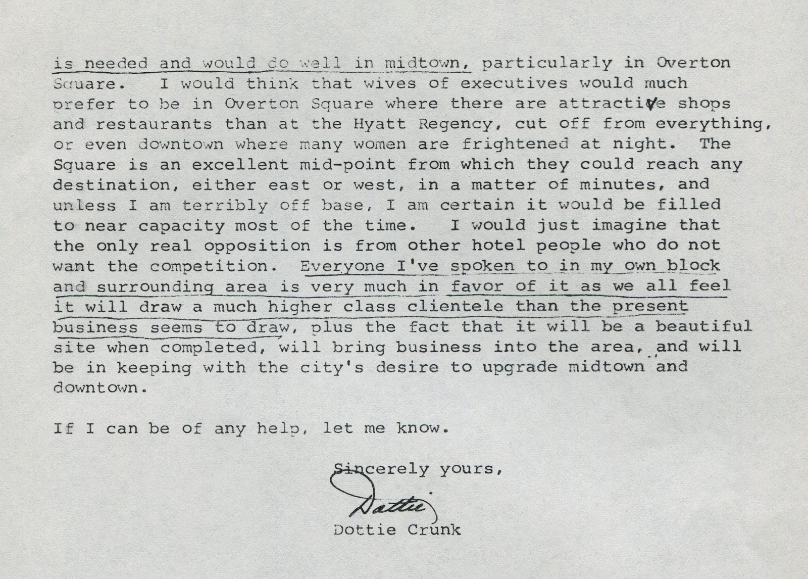 Crme de memph may 2014 letter from ms crunk in support of the proposed hotel spiritdancerdesigns Image collections