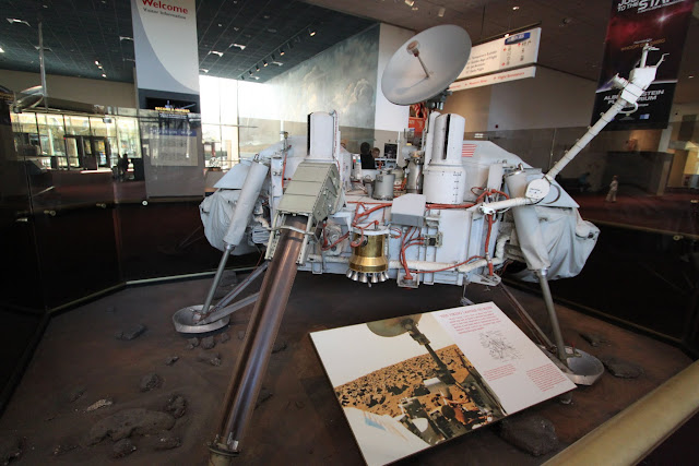 Apollo Lunar Module at Space and Air Museum in Washington DC, USA