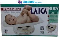 Kardus Timbangan Digital Bayi Laica