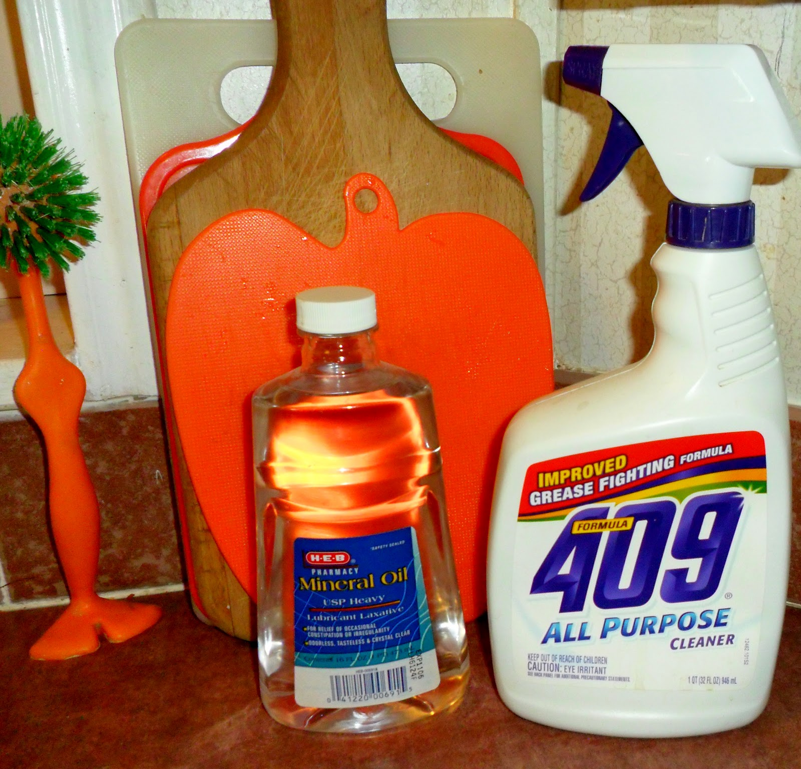 quiltanddagger: Restoring shine to laminate formica countertops