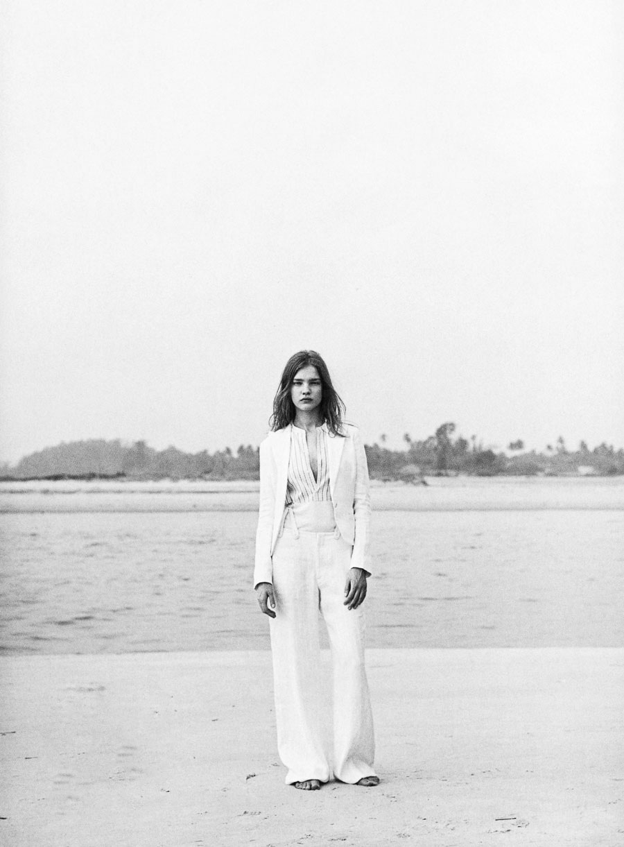 via fashioned by love | Natalia Vodianova in the Age of innocence | Harper's Bazaar US March 2003 (photography: Peter Lindbergh, styling: Jullian Davison)