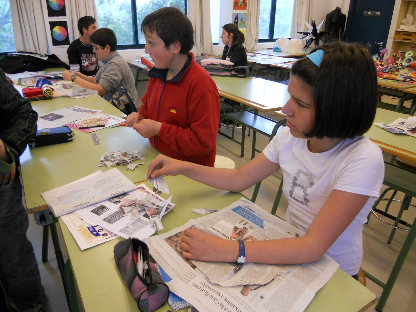 Plasticlass: Marionetas de papel maché