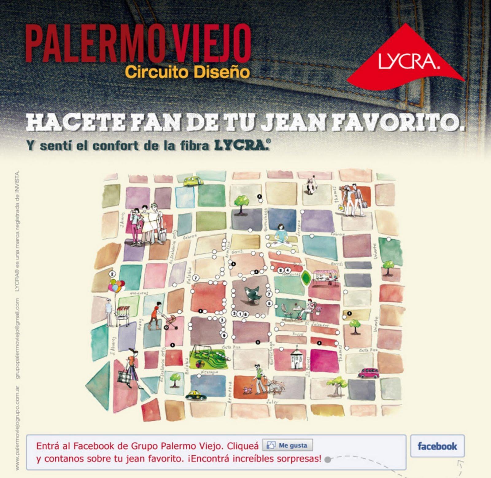 Cada una de las marcas que participan en la acción \u2013 entre ellas, Levi´s, Jazmín Chebar, Chocolate, creará una original vidriera con denim con fibra LYCRA®,