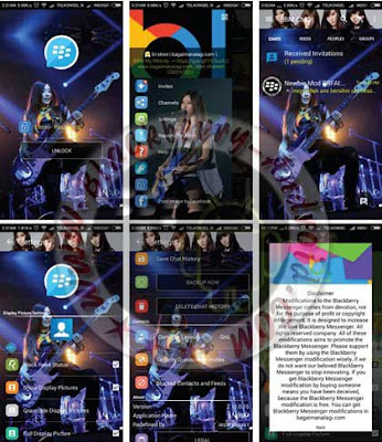 BBM WhatsApp SCANDAL BAND Themes Mod New v2.11.0.16 Apk