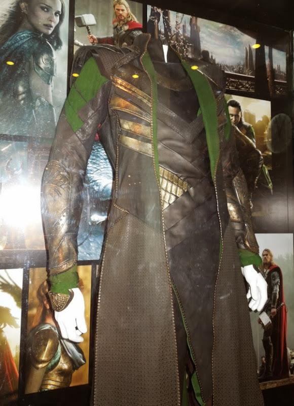 Loki film costume detail Thor 2