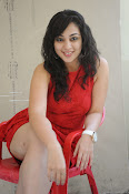 Saba Saudagar Glam photo shoot in red-thumbnail-4