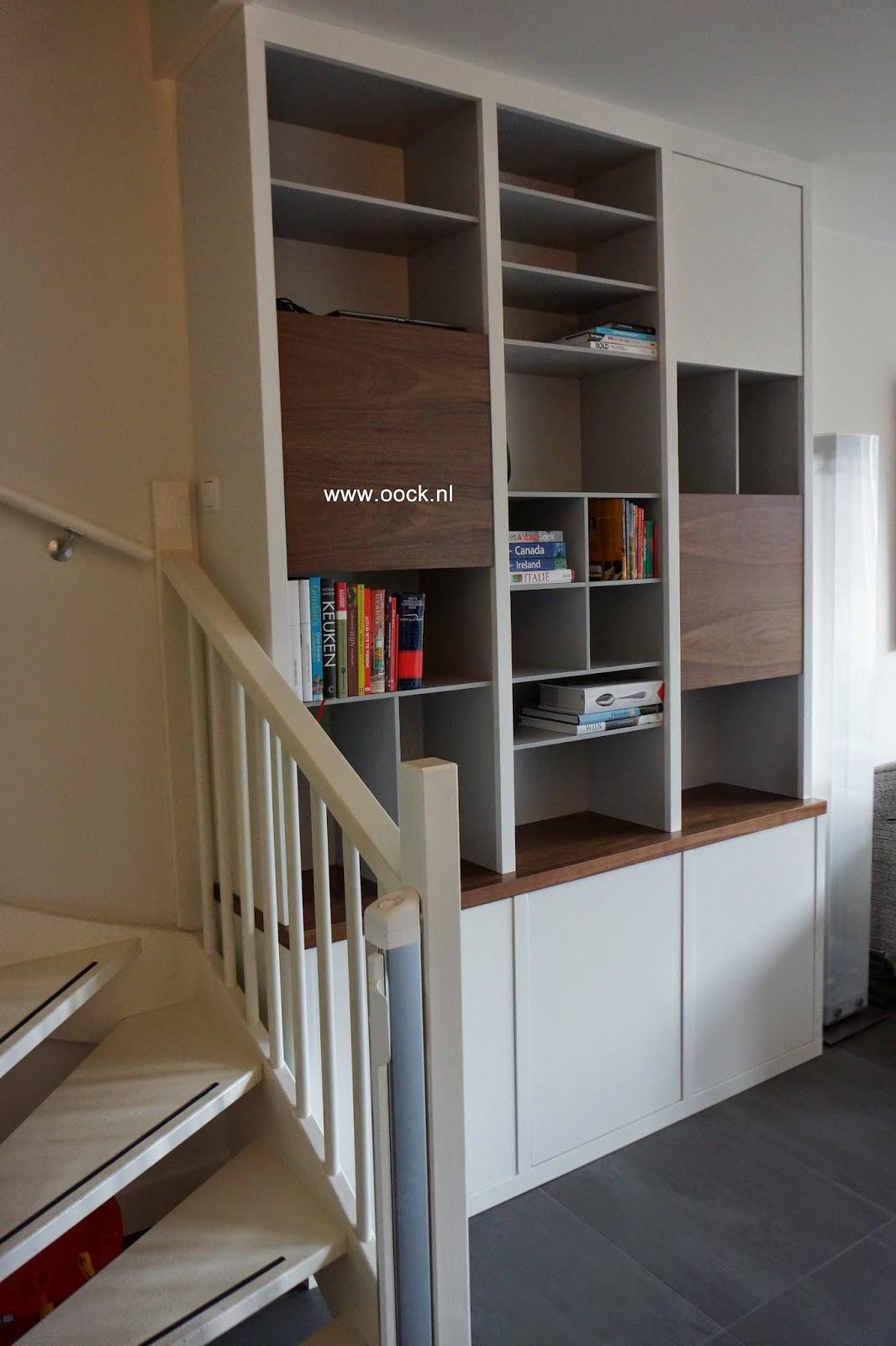 Interieurbouw trends in maatwerk boekenkasten - Boekenkast hout en ijzer ...