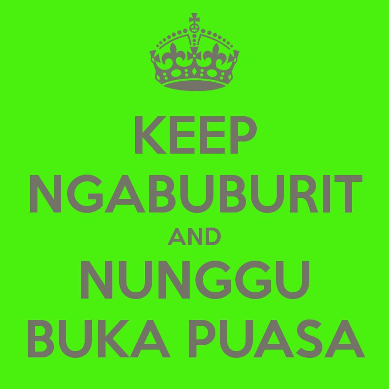 Gambar Kata Ngabuburit