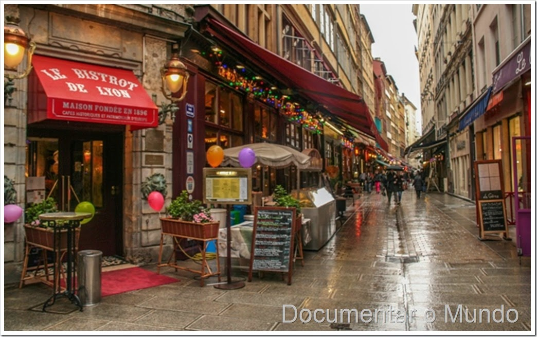 Rua Mercière; Lyon