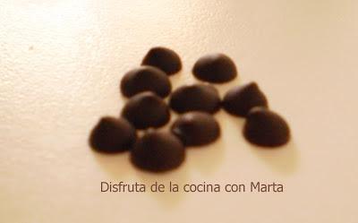 Pepitas de chocolate