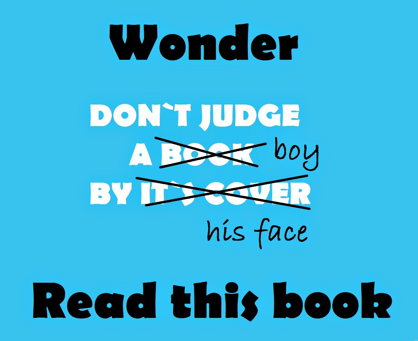 Wonder- book review, best positive book, a must read for all children, Wonder by R J Palacio
