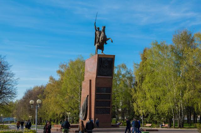 Путешествия: О жизни: Сквер Чапаева
