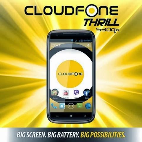 Cloudfone thrill 530qx latest price