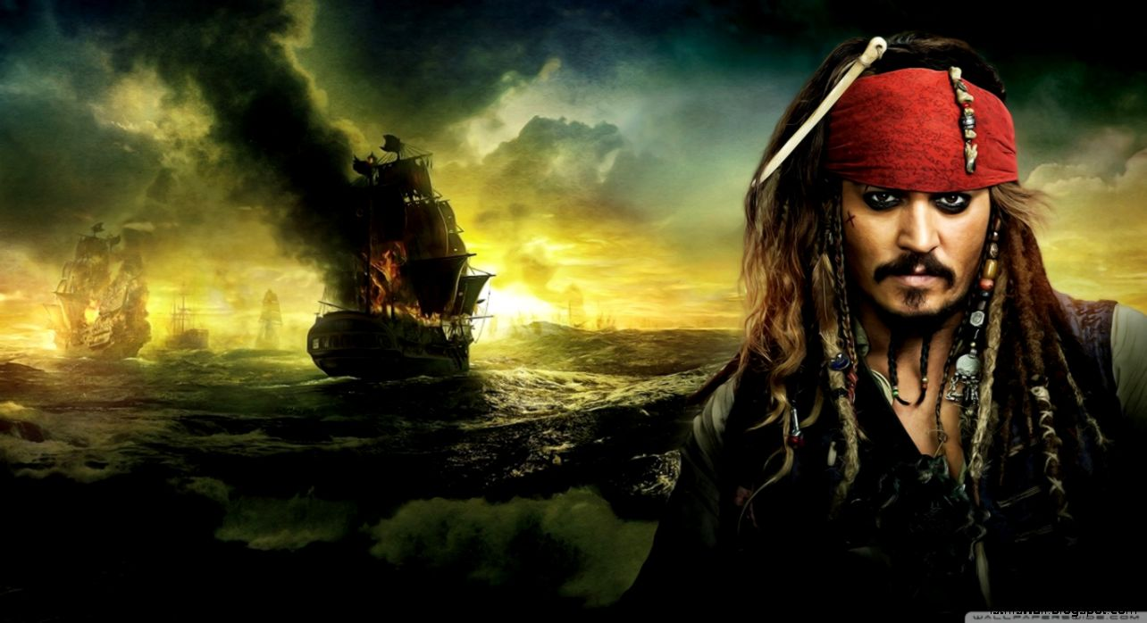 Johnny Depp Pirates of the Caribbean On Stranger Tides 2011 HD