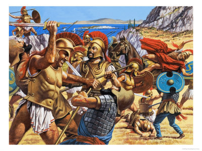 the persian wars how the greeks On the eve of its golden age, greece was in peril xerxes, king of kings and ruler  of the persian empire, which stretched from the indus river to the shores of the.