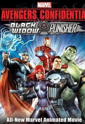 Avengers Confidential Black Widow And Punisher (2014)