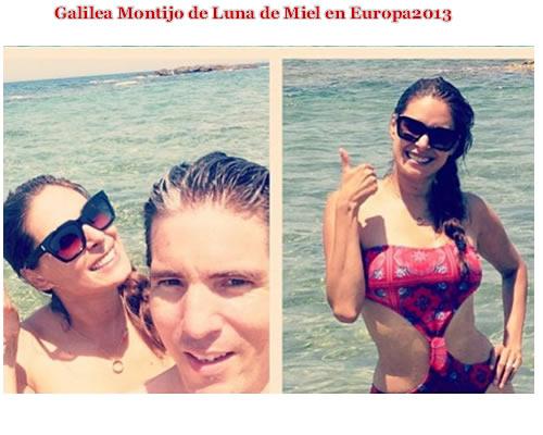 Galilea montijo feliz casada hsm love celebrities - Luna de miel en europa todo incluido ...