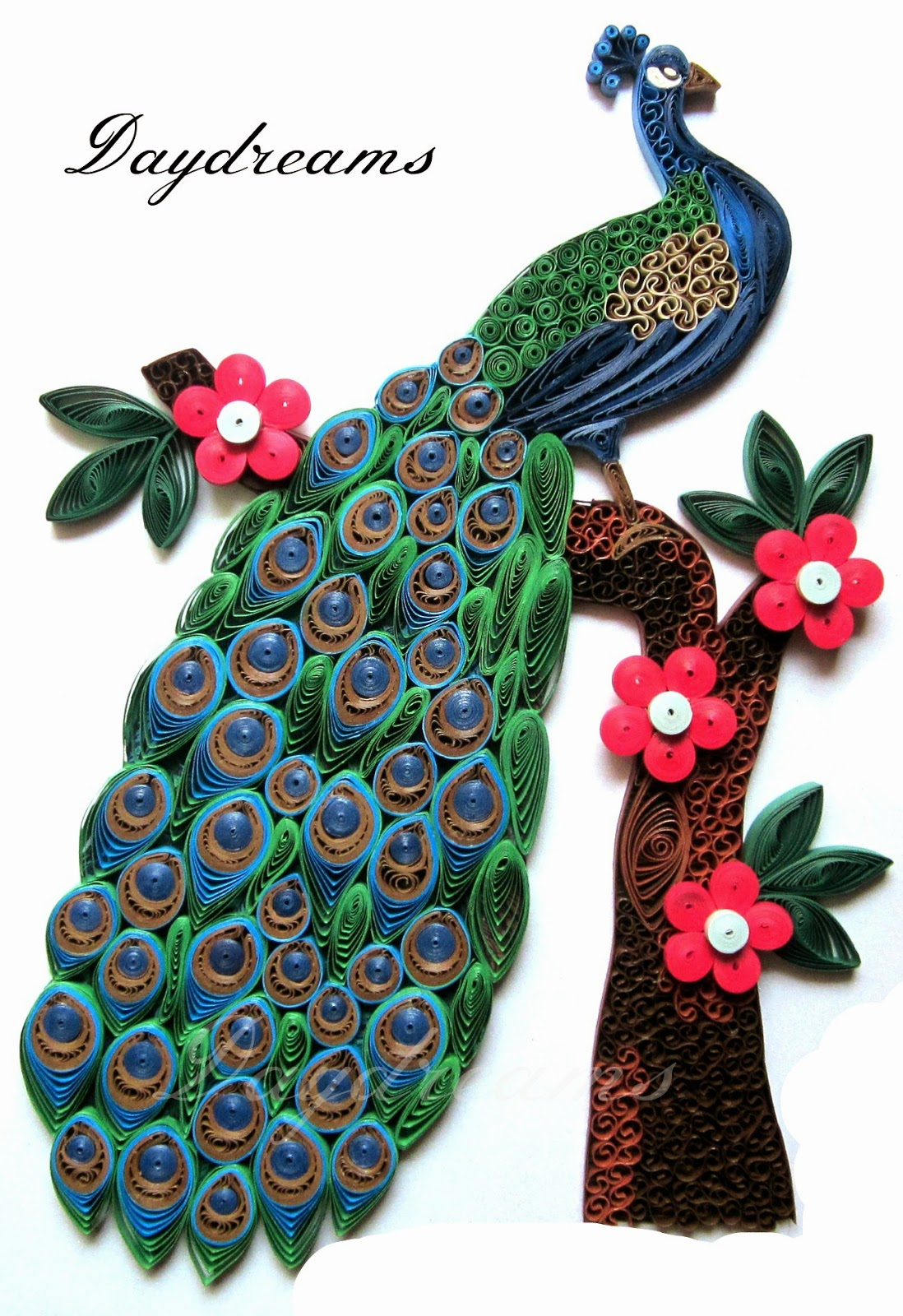 Daydreams for Big quilling designs