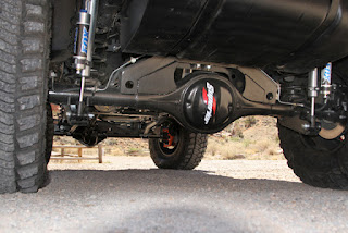 OR-Fab Project Jeep Rear axle