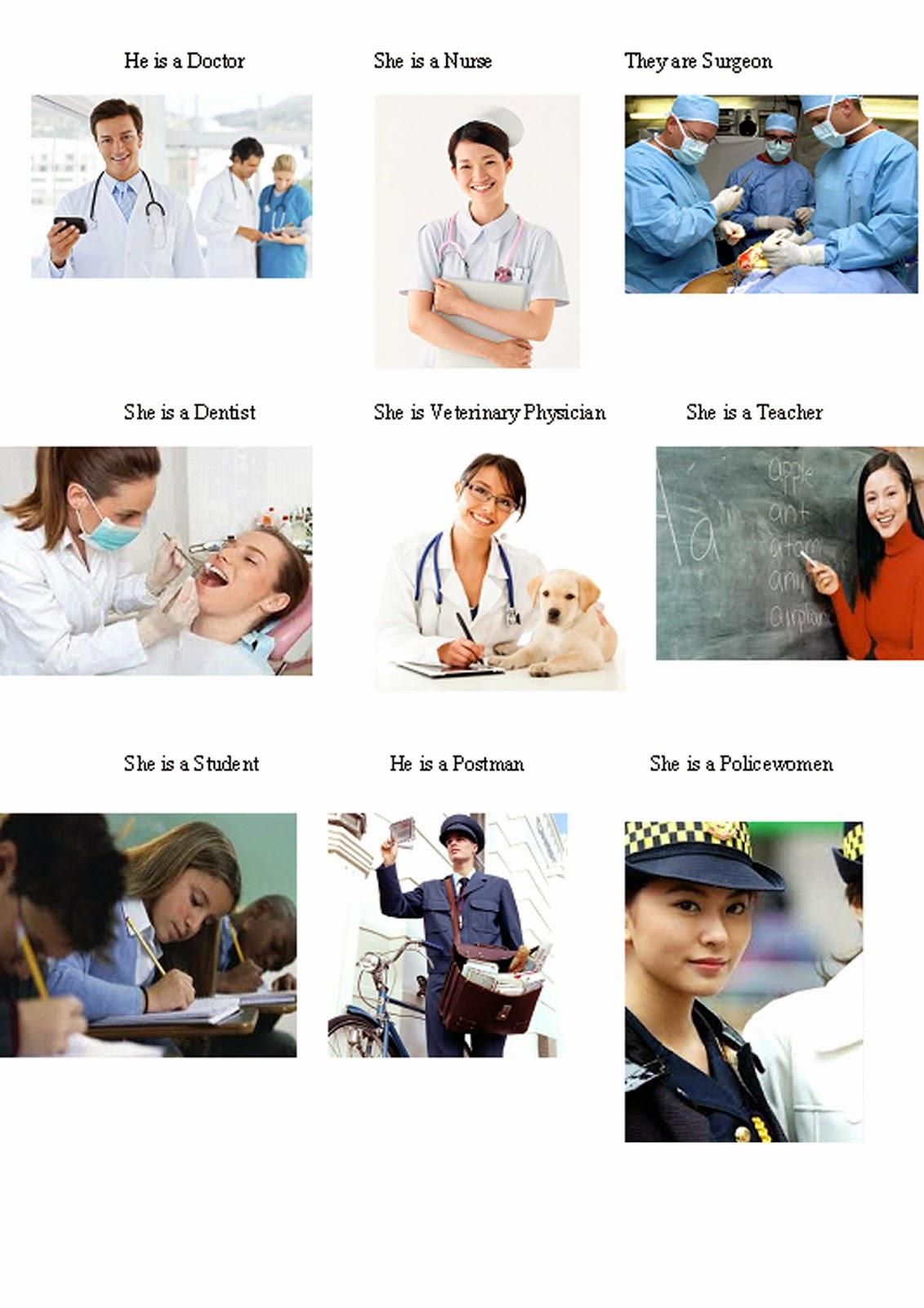 diaznet tugas anak sekolahan nama buah dan profesi